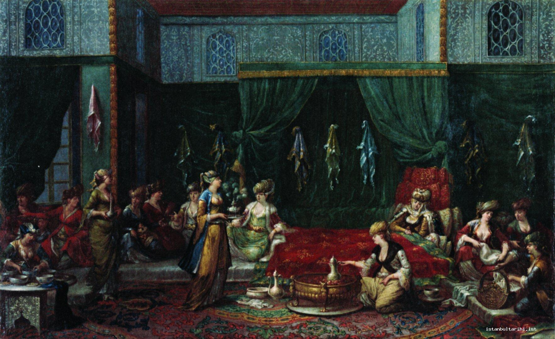 33- An Istanbul mansion and its hostesses (Amsterdam, Rijks Museum)