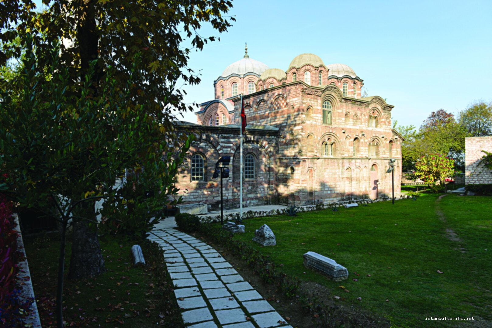 11- The Church of Pammakaristos which was transformed into a mosque in 1568 with the name of Fethiye Mosque.