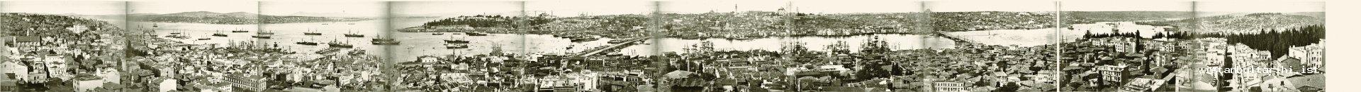 2- Panaroma of Istanbul in the period of Sultan Abdülhamid II (Guilaume Berggren, Constantinople, from the archives of M. Hilmi Şenalp)