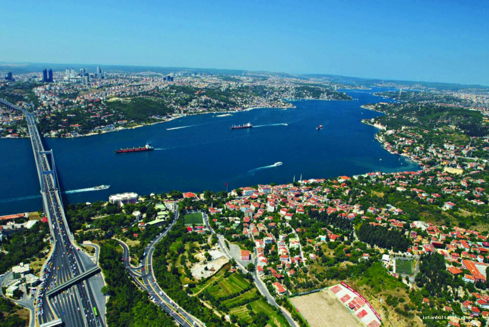29- From the Bridge of 15 July Martyrs to Fatih Sultan Mehmet Bridge: Two sides of Bosporus