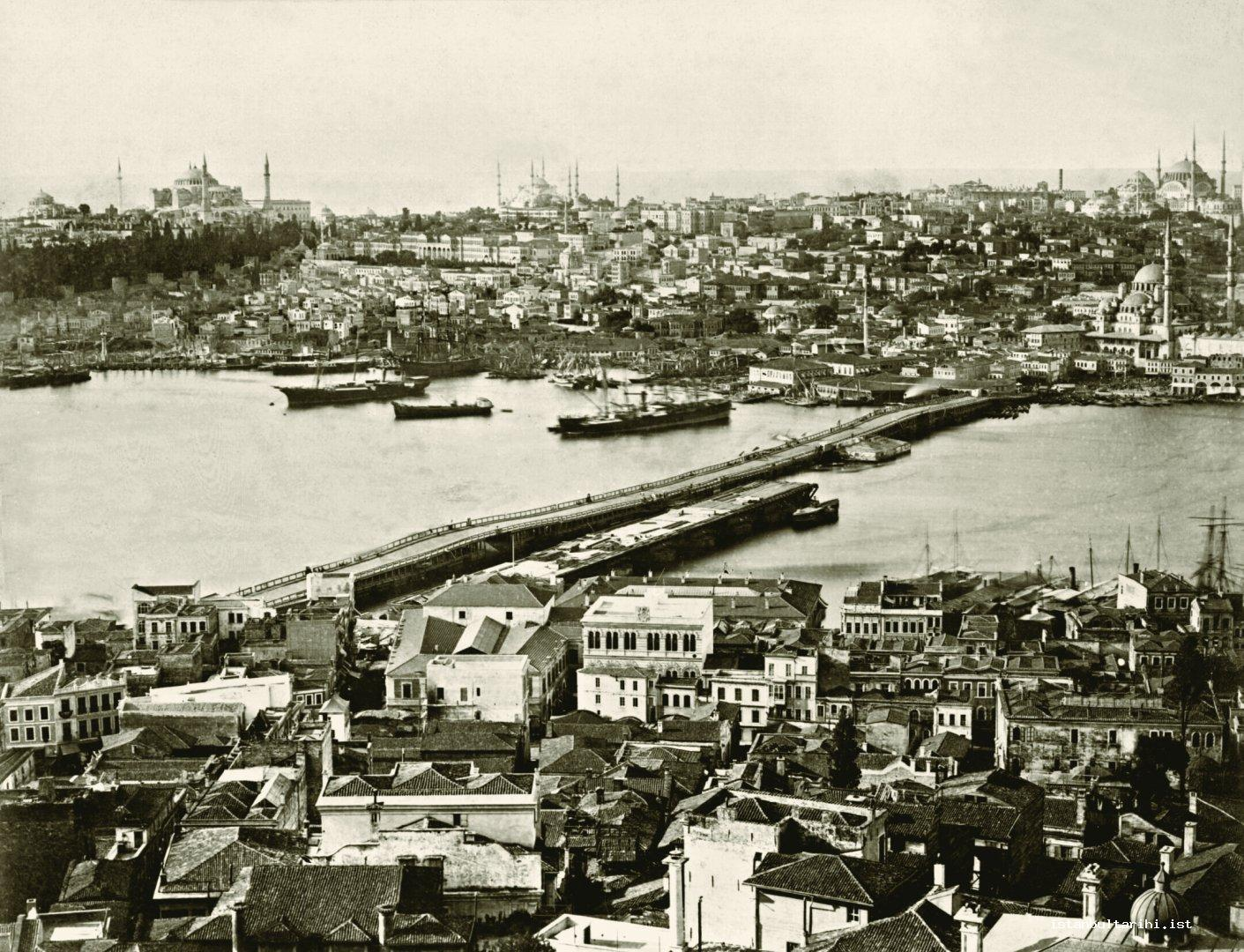 7- Galata Bridge and Eminönü (Yıldız Albums)