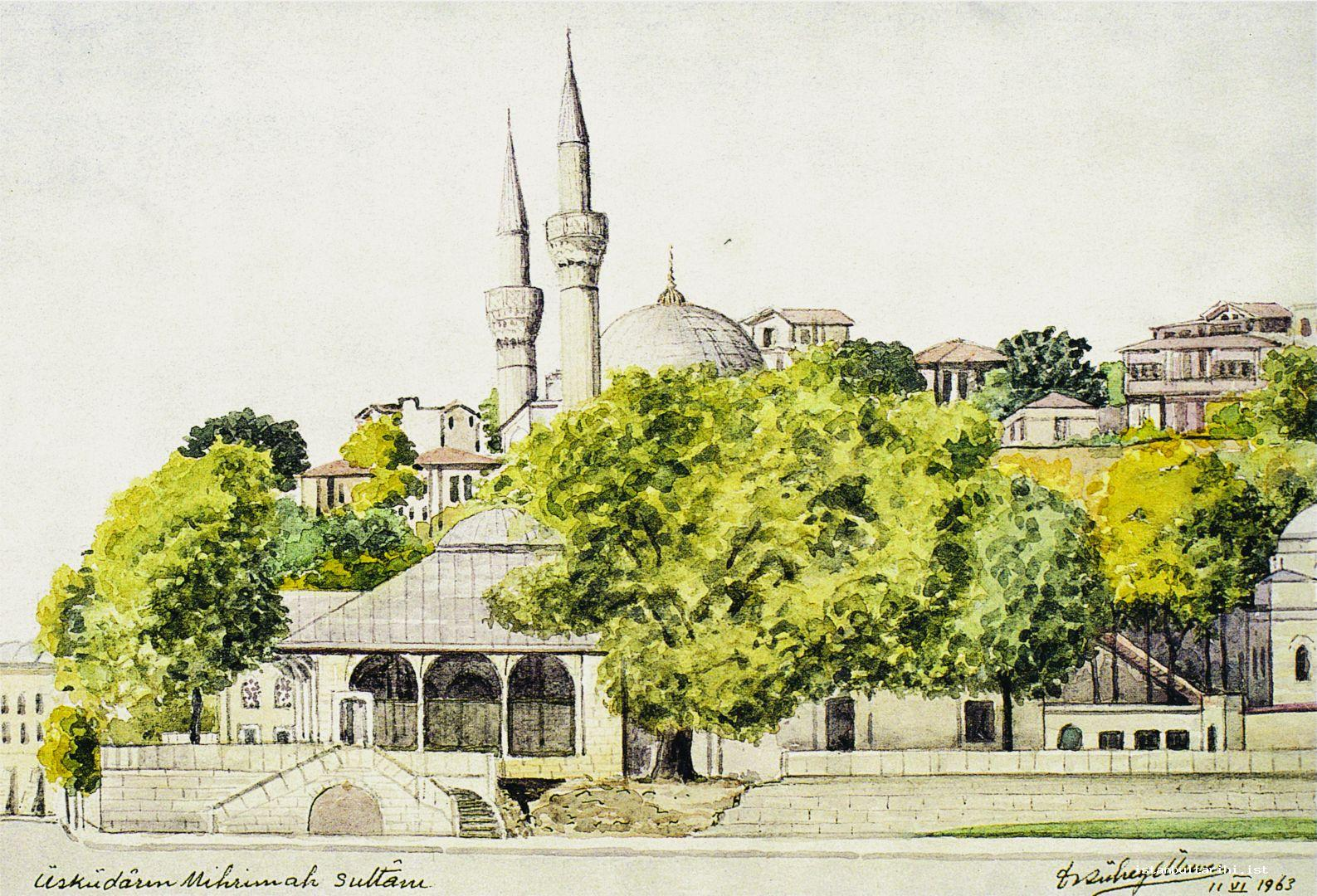 "11- ""Üsküdar'ın Mihrimah Sultanı"" through A. Süheyl Ünver's brush"