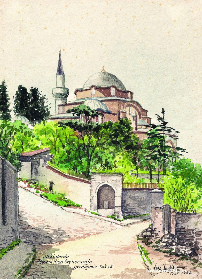 2- A. Süheyl Ünver would not keep his small box of water color paints and brushes