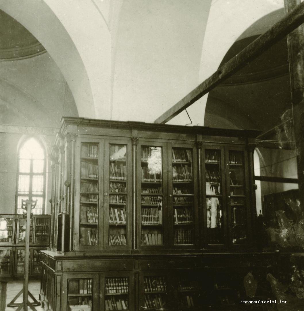 12- A section from Beyazıt State Library (Istanbul Metropolitan Municipality, The Archive of City Council)