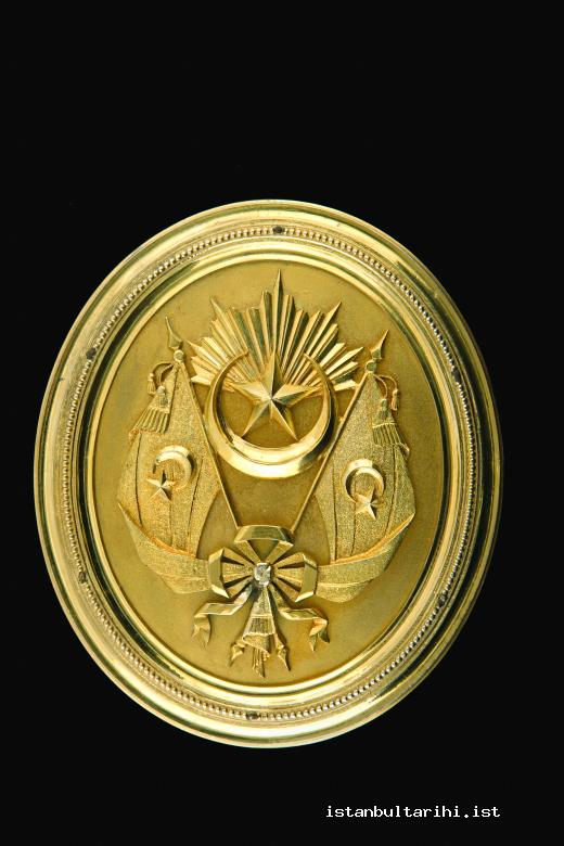 10- The golden seal used on the boxes of international agreements (BOA TŞH, no. 254)