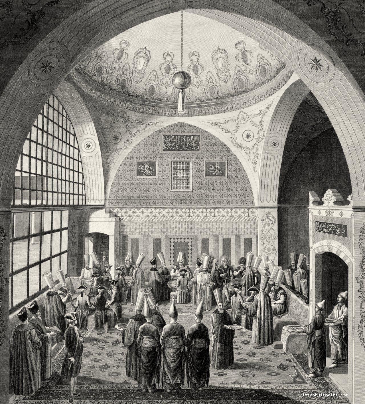 12- A banquet offered in Imperial Chancery of State in honor of an ambassador (d'Ohsson)