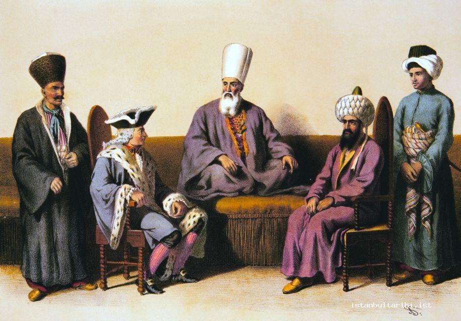 16- The interview between reisülküttab who was responsible for Foreign Affairs and an ambassador (Mehmed Arif)