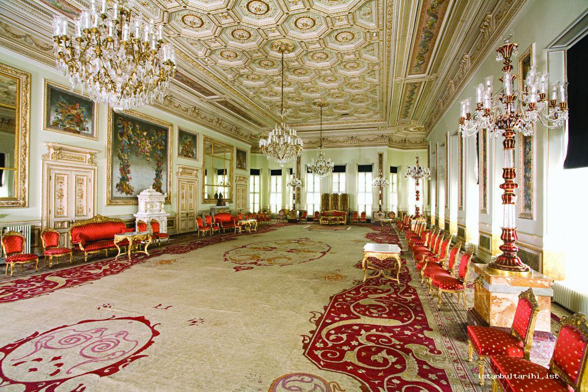 26- Dolmabahçe Palace, The Hall for the admission of ambassadors