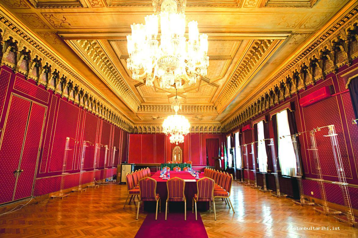 5- The hall in Yıldız Palace Ambassadors Mansion where Sultan Abdülhamid II used to admit foreign ambassadors