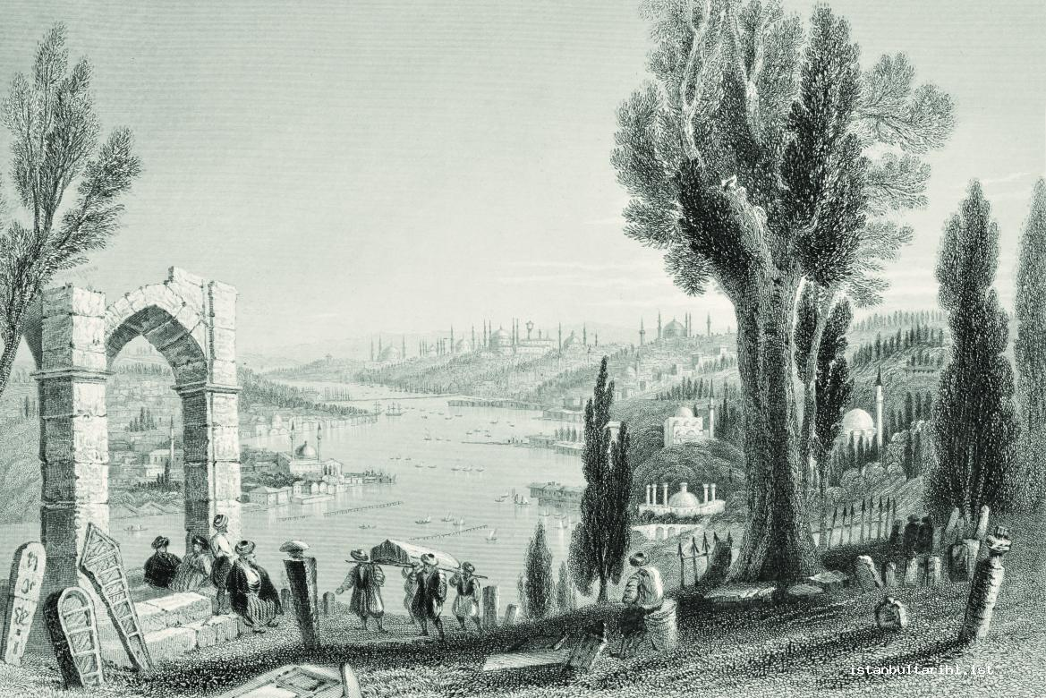 2- The view of Istanbul from the hillside of Eyüp (Bartlett)