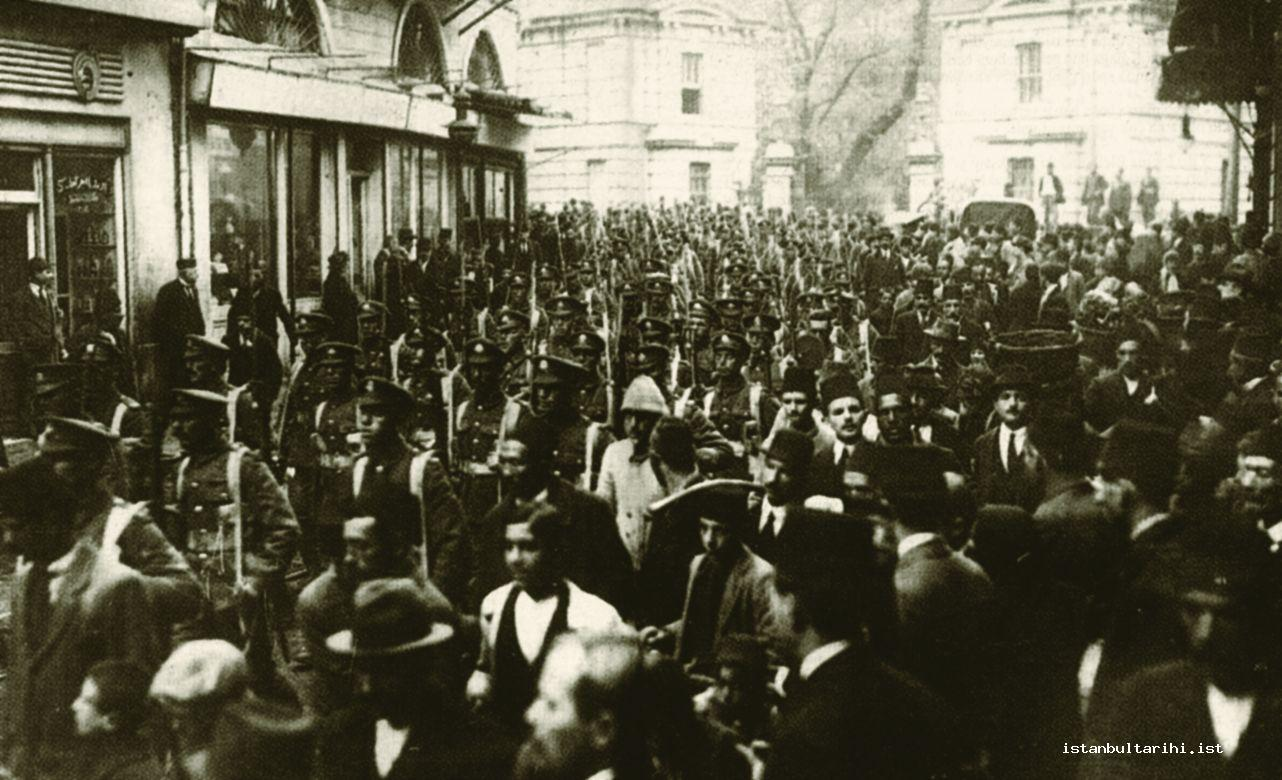 2- Beyoğlu during the years of occupation