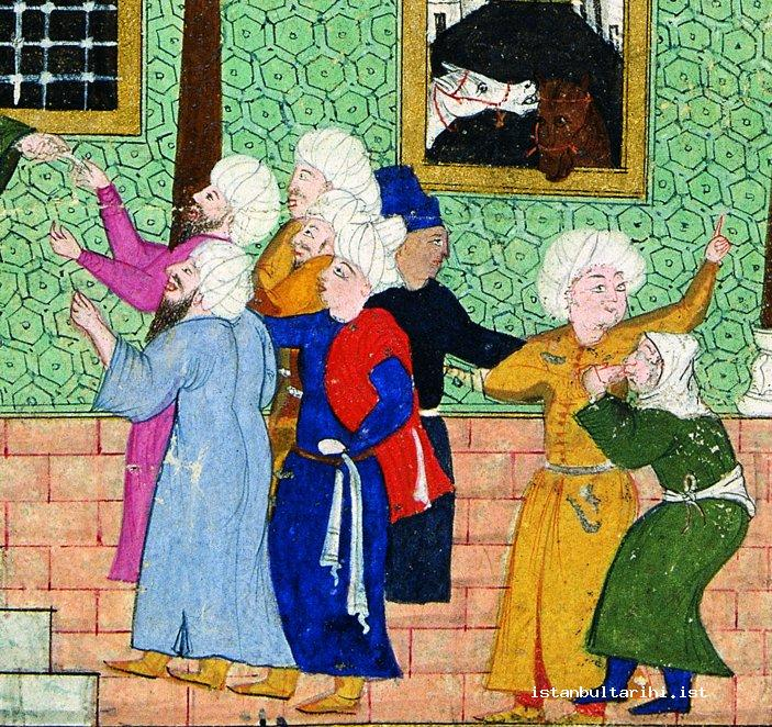 8- People of Istanbul when submitting their written complaints to the qad (<em>Nadiri Divanı</em>)