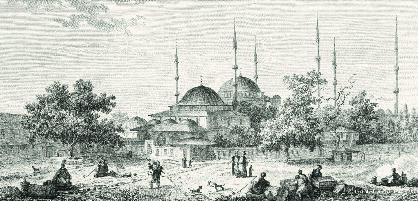 10- Sultanahmet Square, the most important place where the people of Istanbul met and rebellions took place (Gouffier)