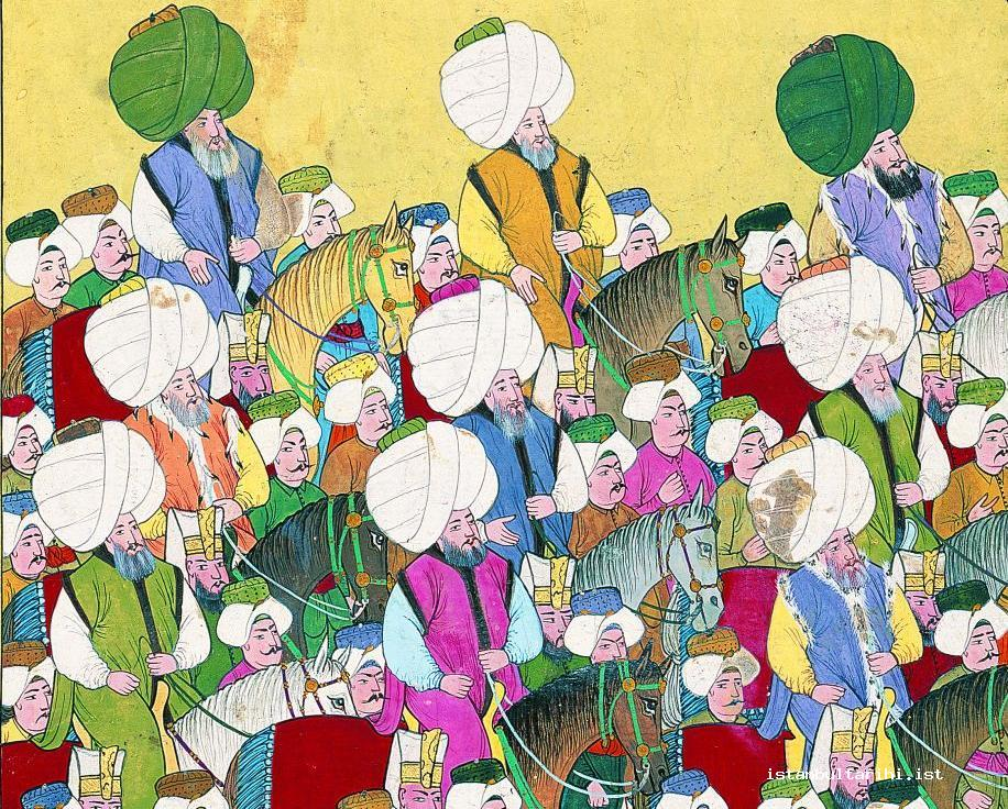 14- Members of the Ottoman scholarly class (Vehbi)