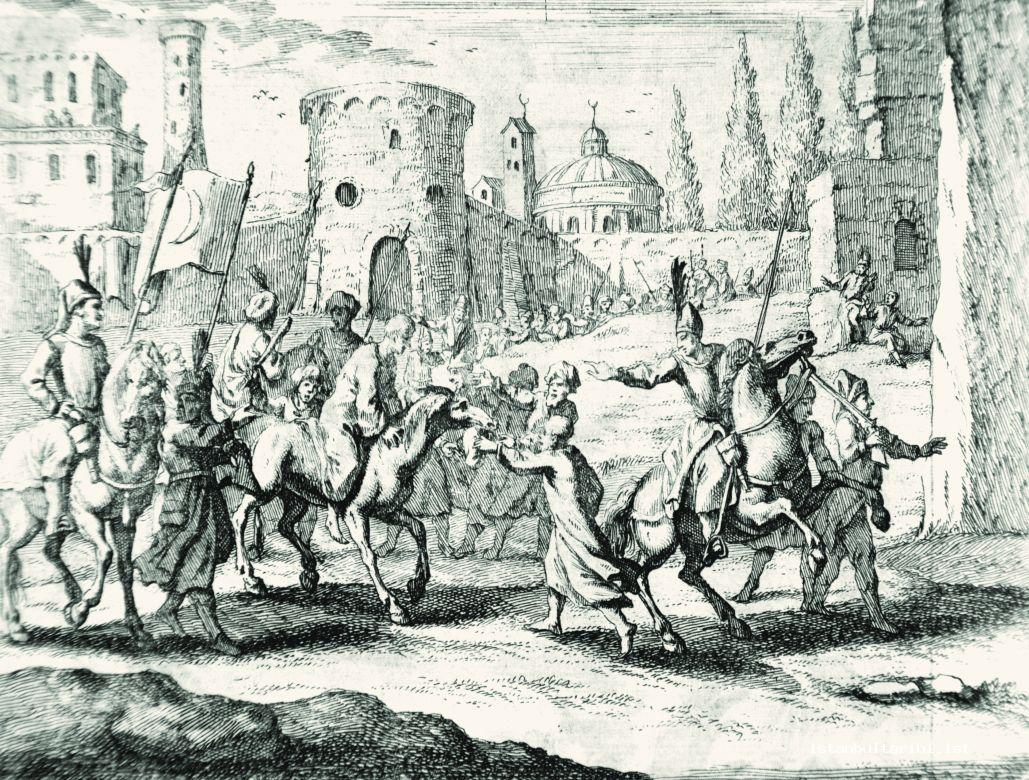7- Taking Osman II forcefully to the dungeons of Yedikule (Rycaut)