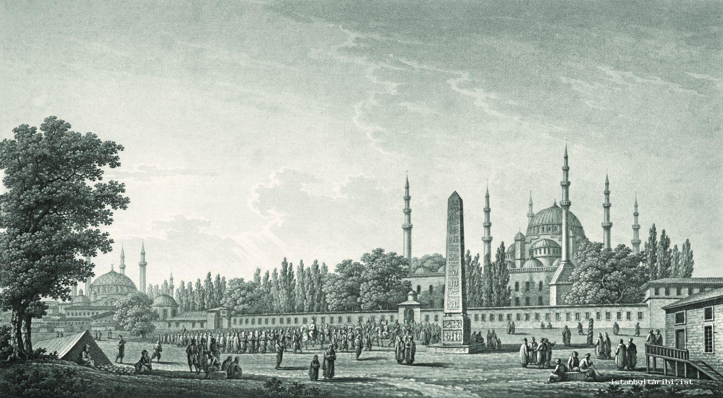 3- Sultan Selim's return from Sultanahmet Mosque (Pertusier)