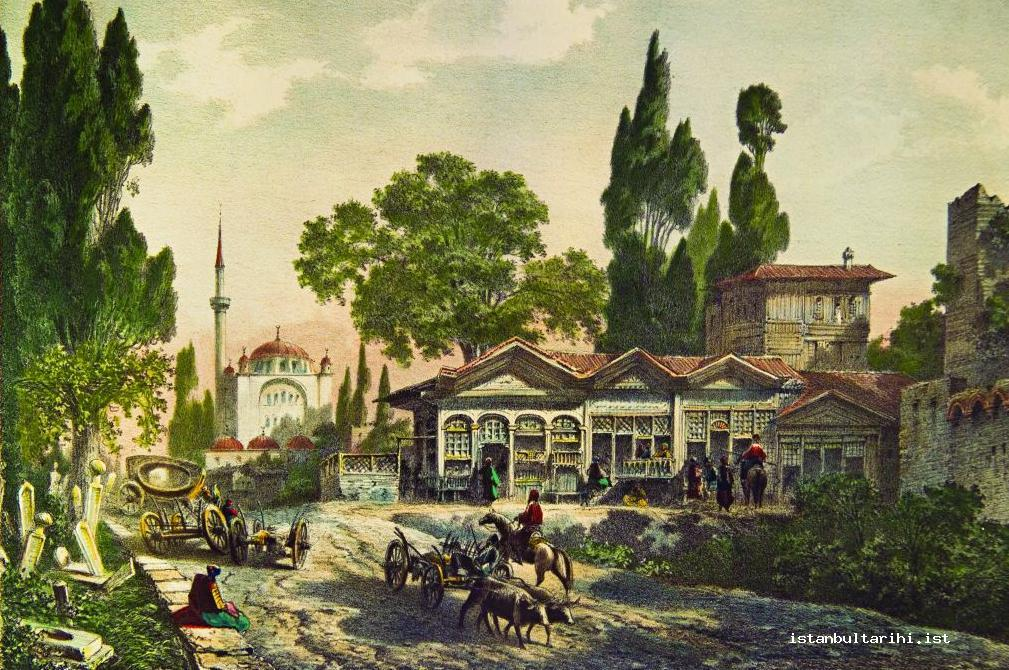 6- Topkapı, one of the first districts of Istanbul (Flandin)