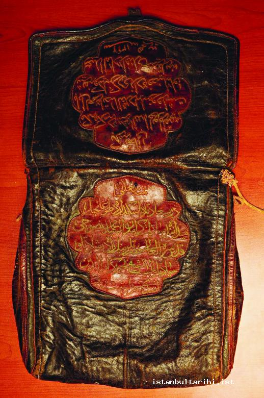 10- The bag for the gifts (sürre) prepared to be delivered to Mecca (Üsküdar Municipality Archives)