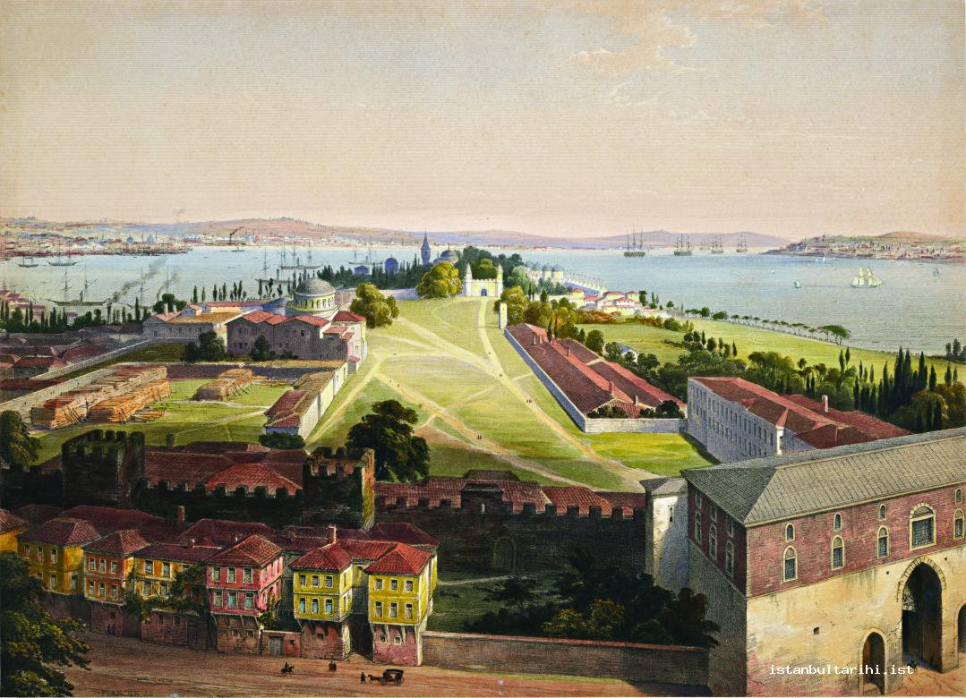 13- Topkapı Palace, the center of the government of Istanbul and the empire (Fossati)