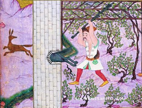 24- Istanbul garden and the gardener (Topkapı Palace Museum Archives, no. H. 1711)