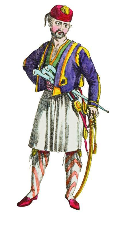 2- An Albanian (Costumes L'Empire Turc)