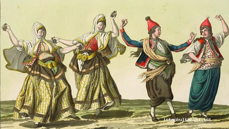 12- Dancers of Istanbul (d'Ohsson)