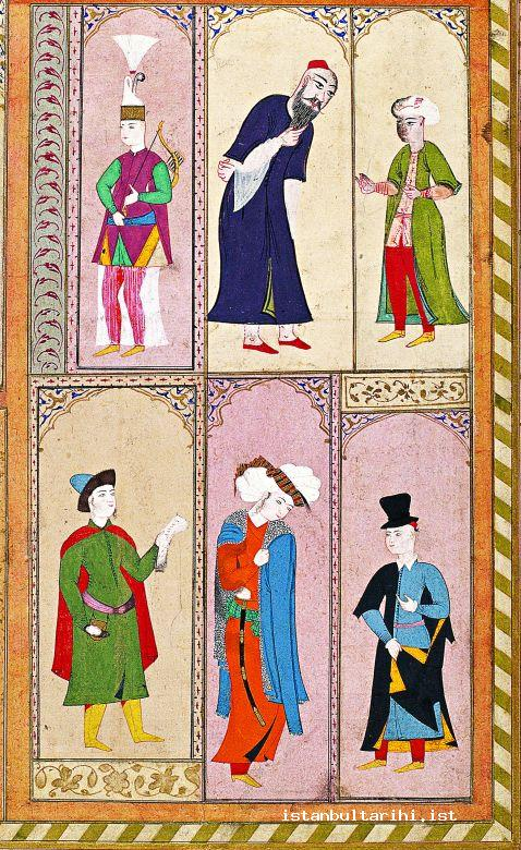 11- Muslims and non-Muslims of Istanbul (The album of Sultan Ahmed I, TopkapıPalace Museum Library, no. B. 408)