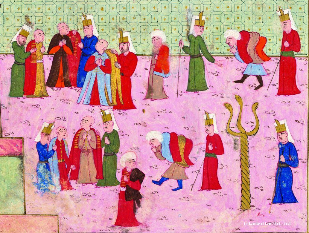 2- Giving the people clothes as gifts (İntizami)