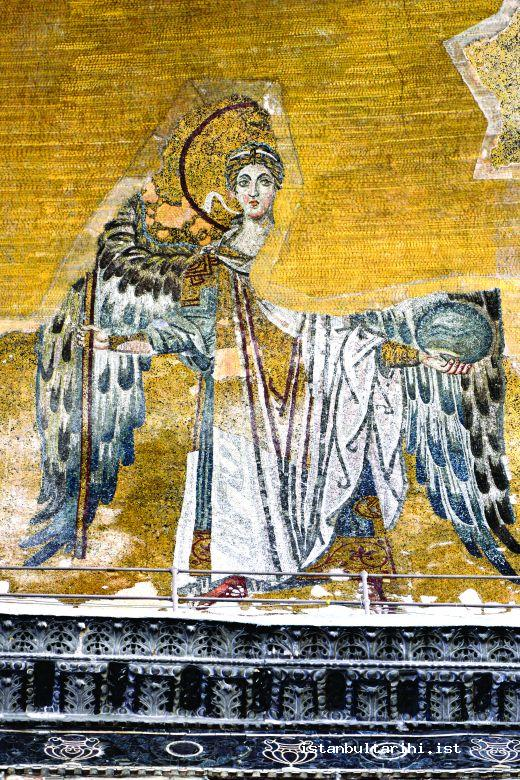 4- Depiction of an Angel (Hagia Sophia)