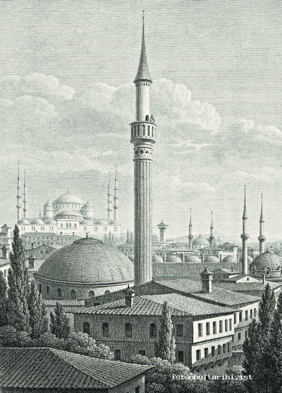 1- Muezzin reciting adhan from the minaret