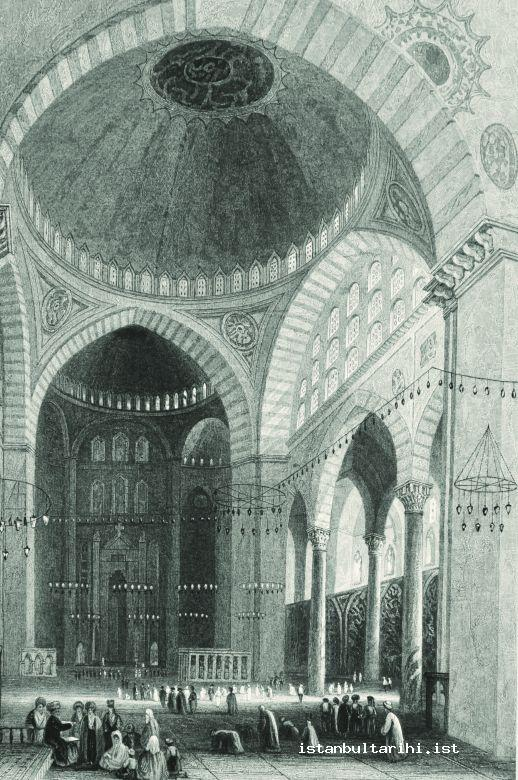 6- The preach and prayer in Süleymaniye Mosque