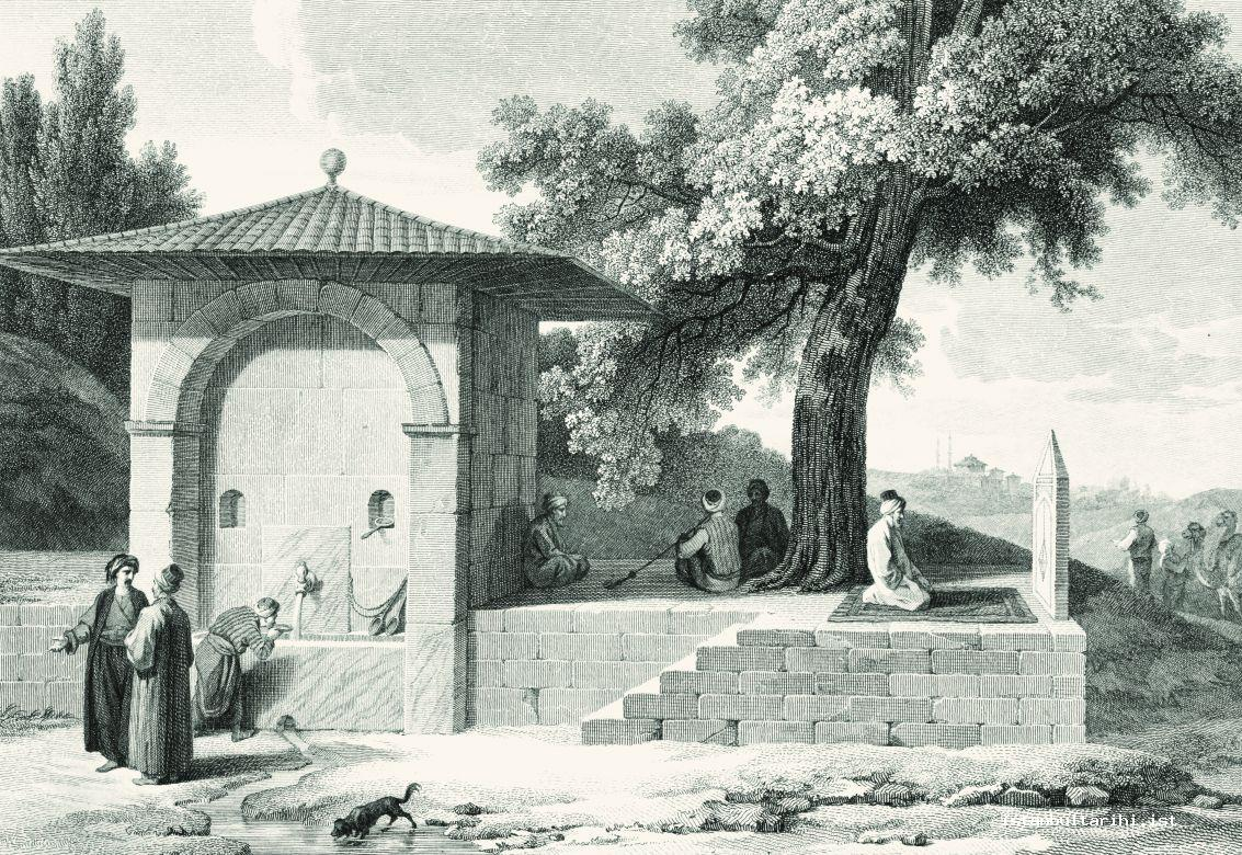 8- The open place for prayer in Sarıyer Posture (d'Ohsson)