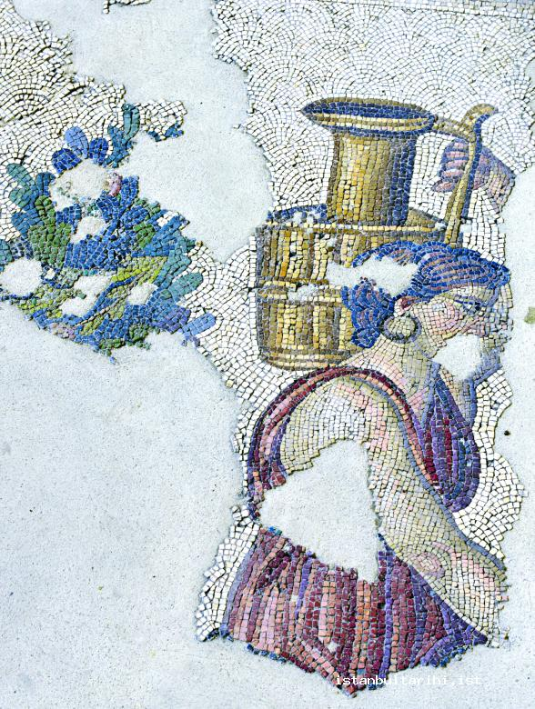 4- A mosaic depicting the daily life in the Great Palace in Constantinople (Mosaic Museum)