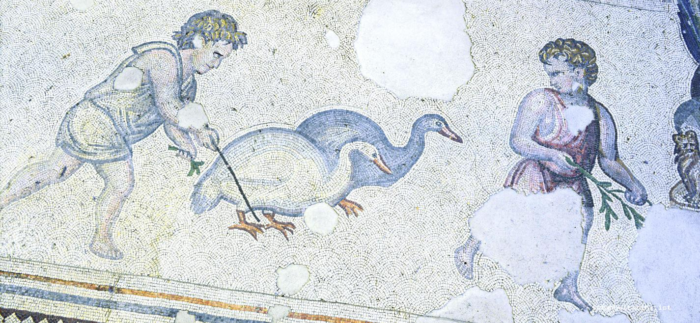9- A farmer from Constantinople (Great Palace) (Mosaic Museum)