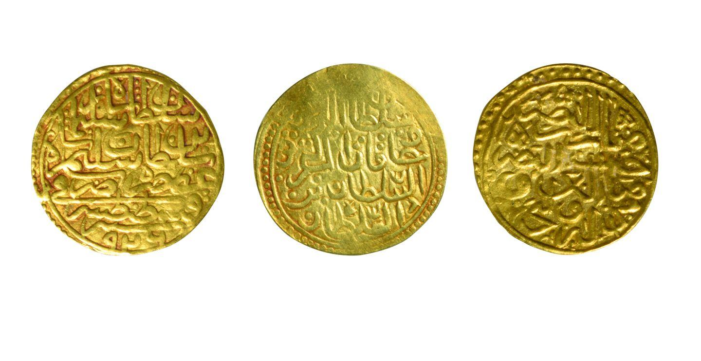 4- Coins minted in Istanbul during the period of Sultan Süleyman I (Istanbul Archeology Museum, Coins Section)