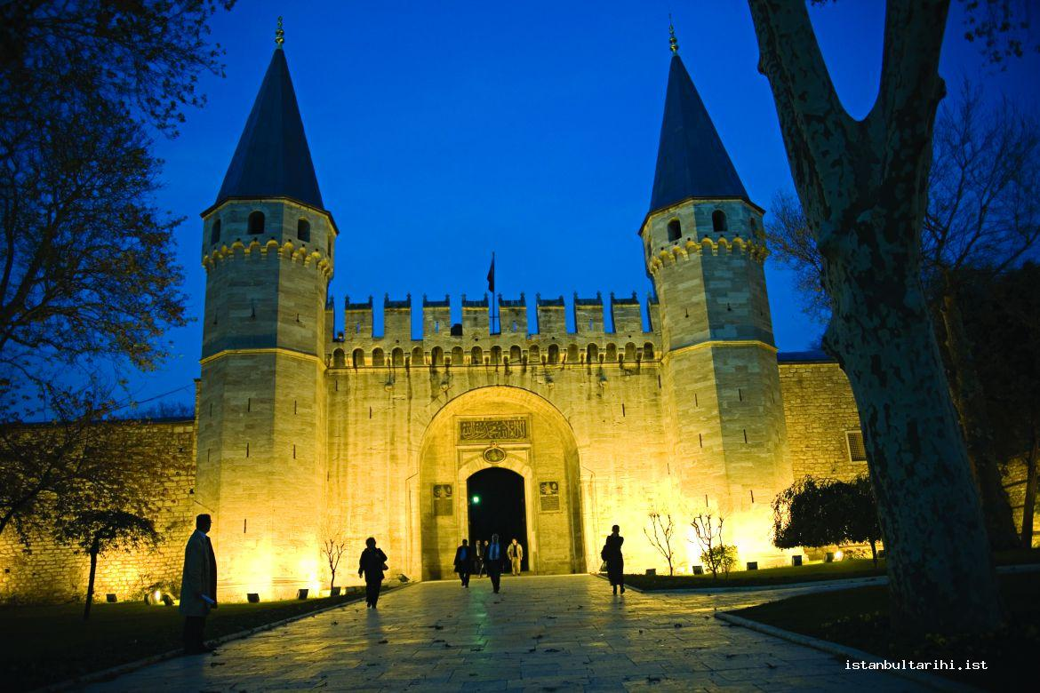 1- Topkapı Palace, Sultanate Gate