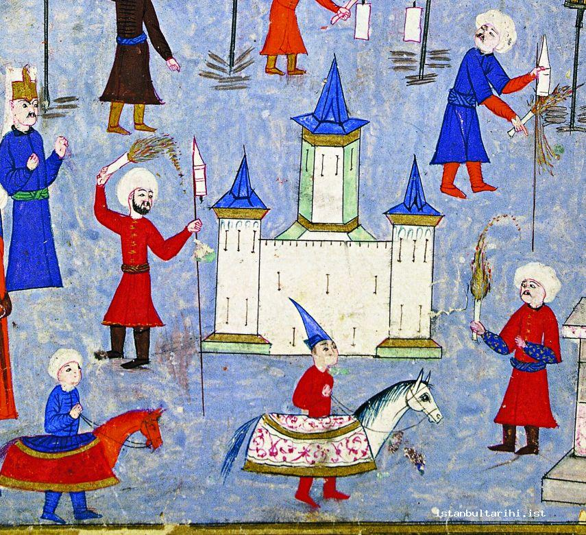2- The fireworks in the festivities of 1582 (İntizami)