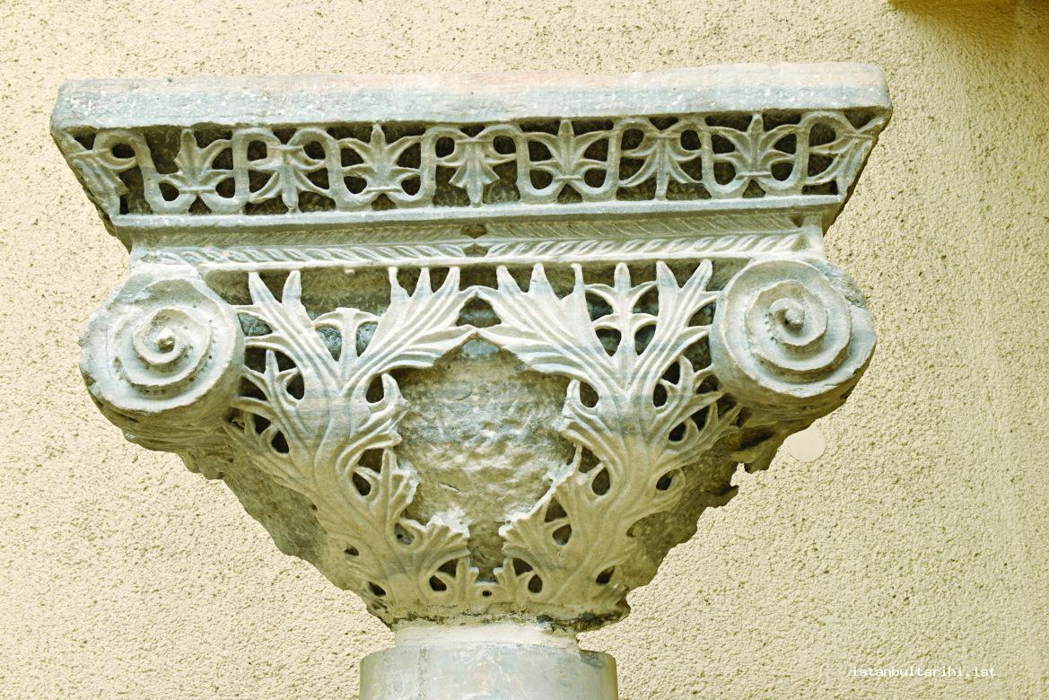 5- A 6<sup>th</sup> century impost headpiece found in Beyazıt excavations (Istanbul Archeology Museum)
