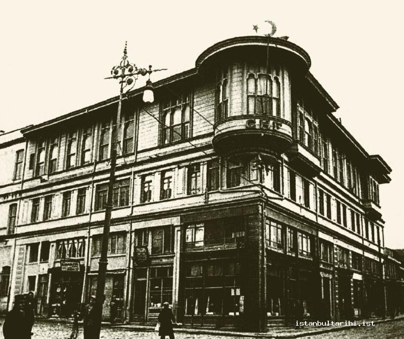 3- Letafet Hanım Building which was the first building of Darülbedayi (A former name of the City Theater of Istanbul)