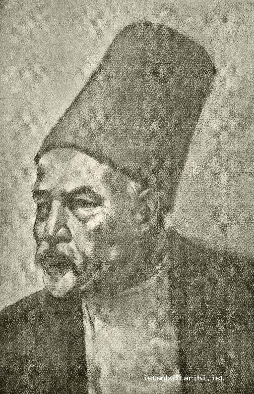 "17- Dede Efendi (the picture published by Rauf Yekta Bey in the volume about ""Dede Efendi"" in his book <em>Esatiz-i Elhan</em>)"