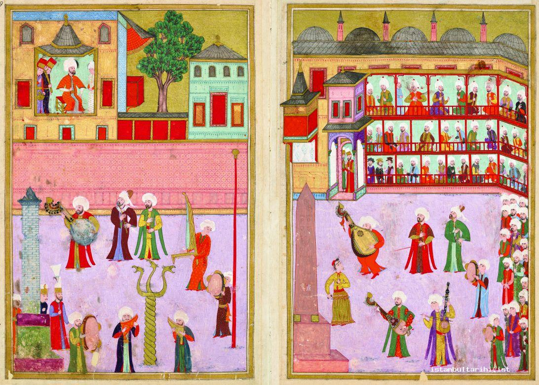 3- The circumcision festivities of Şehzade Mehmed: 1582
