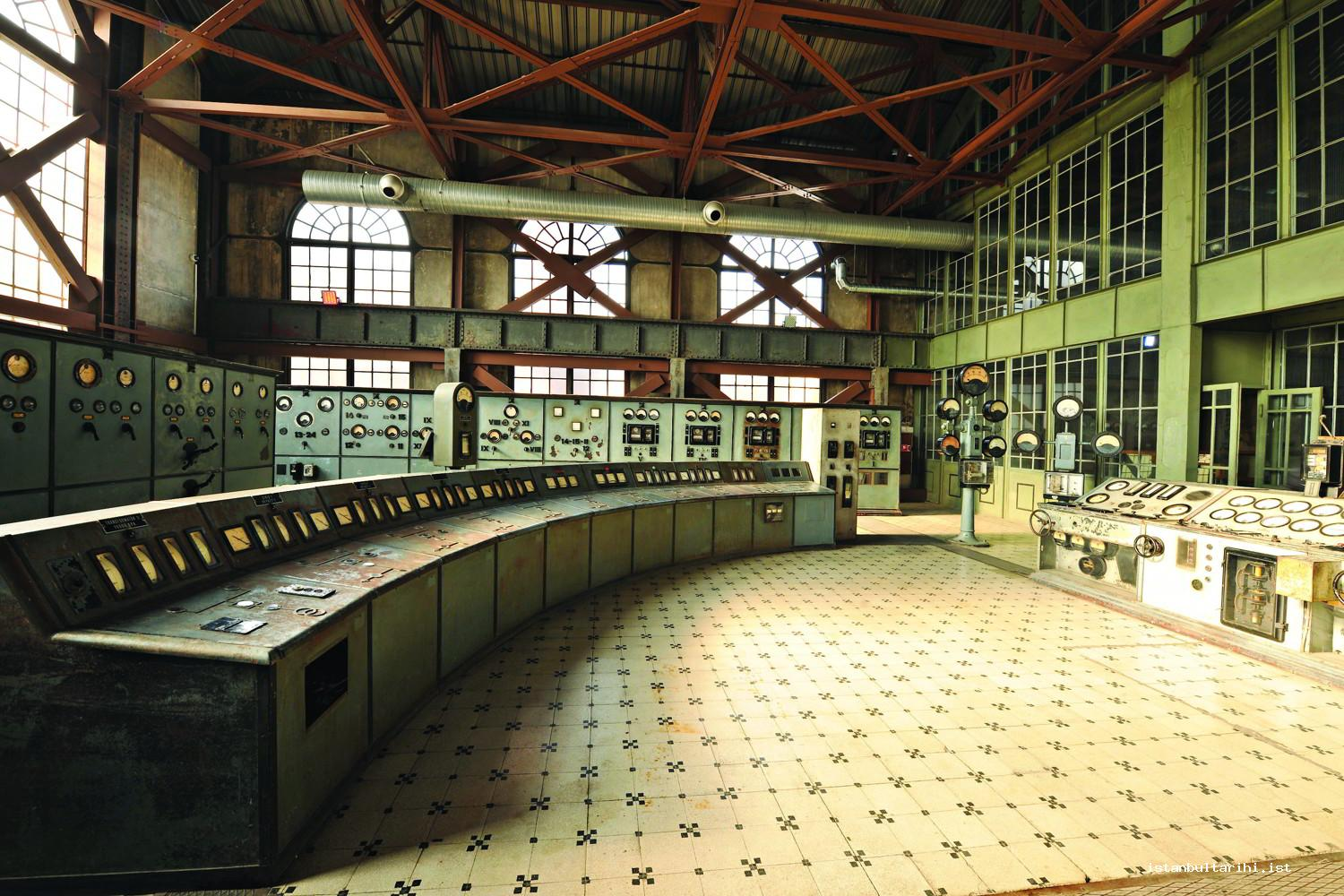 11- The control room of Silahtarağa Electric Factory