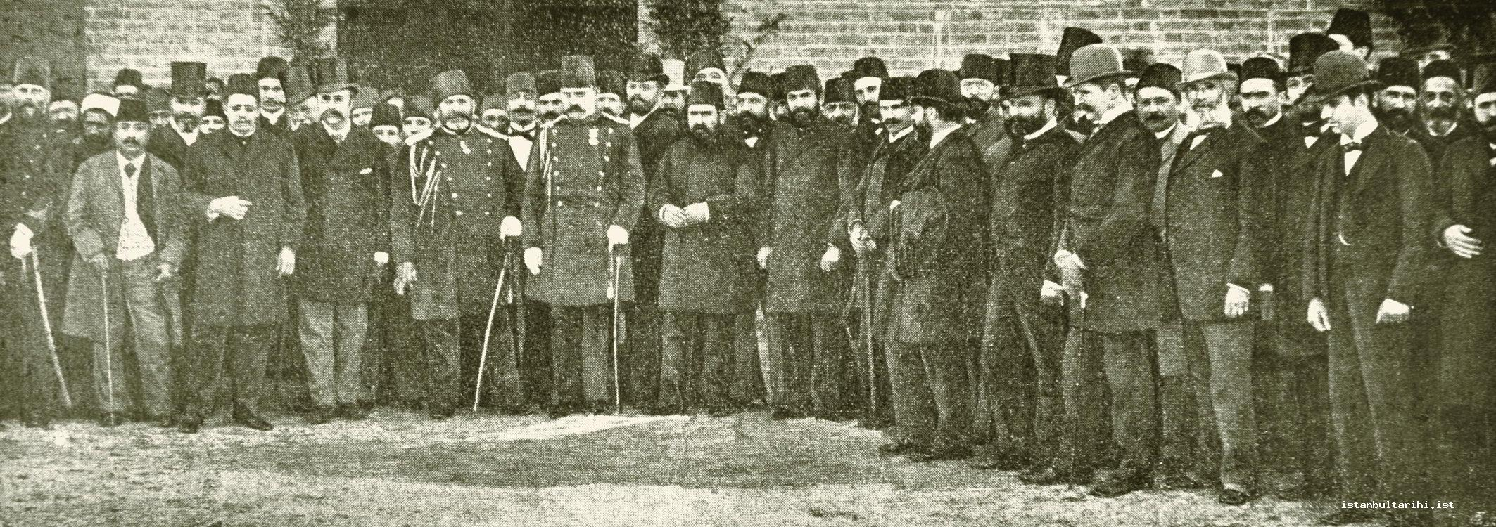 3- The opening ceremony of the company of Tenvir-i Şehr-i İstanbul Şirket-i Osmaniye