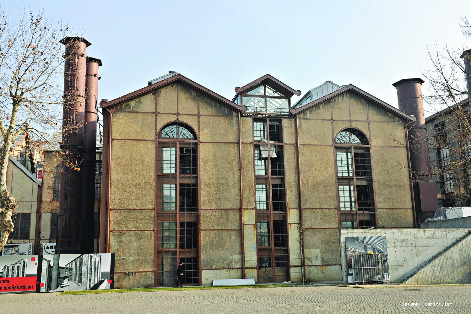 7- Silahtarağa Electric Factory which has been turned into Santral Istanbul / Energy Museum by Bilgi University