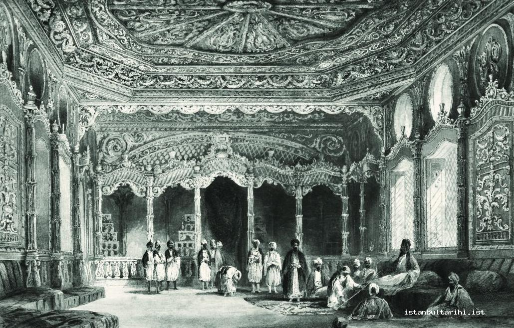 6- The hall in the palace of a lady sultan