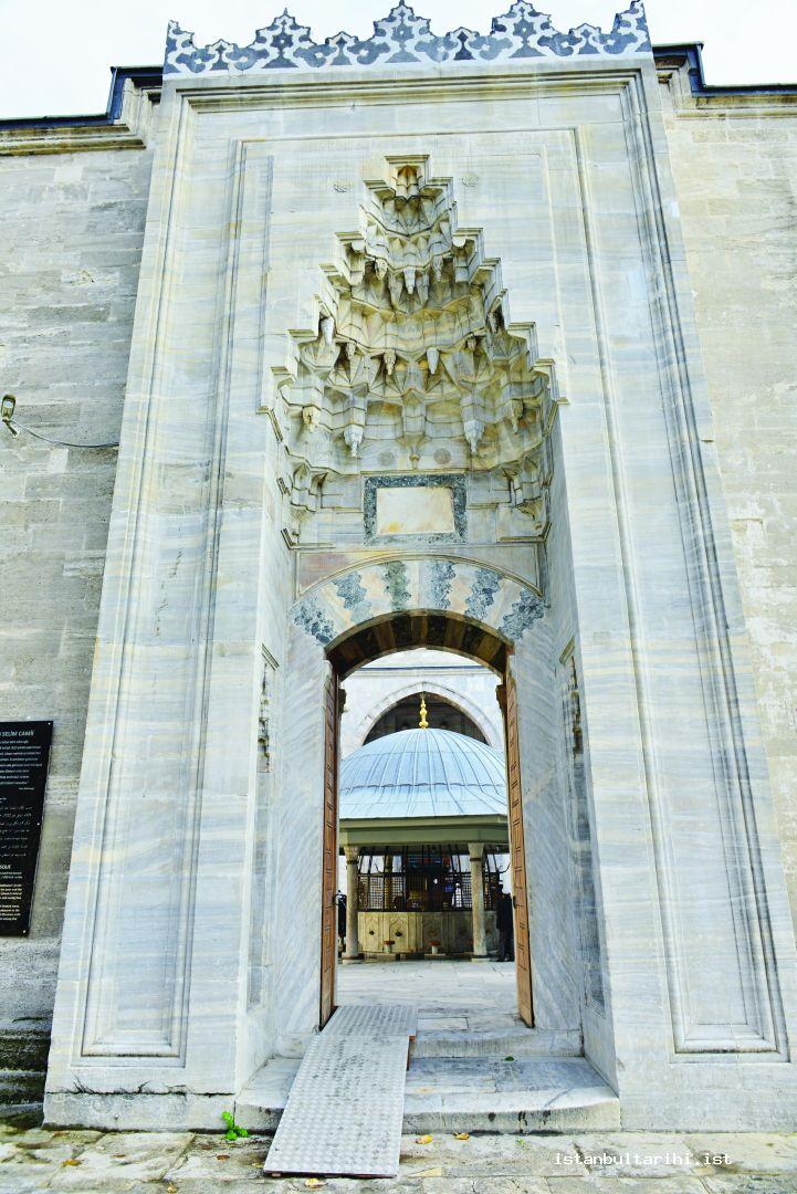 4- The entrance gate of Yavuz Sultan Selim Mosque