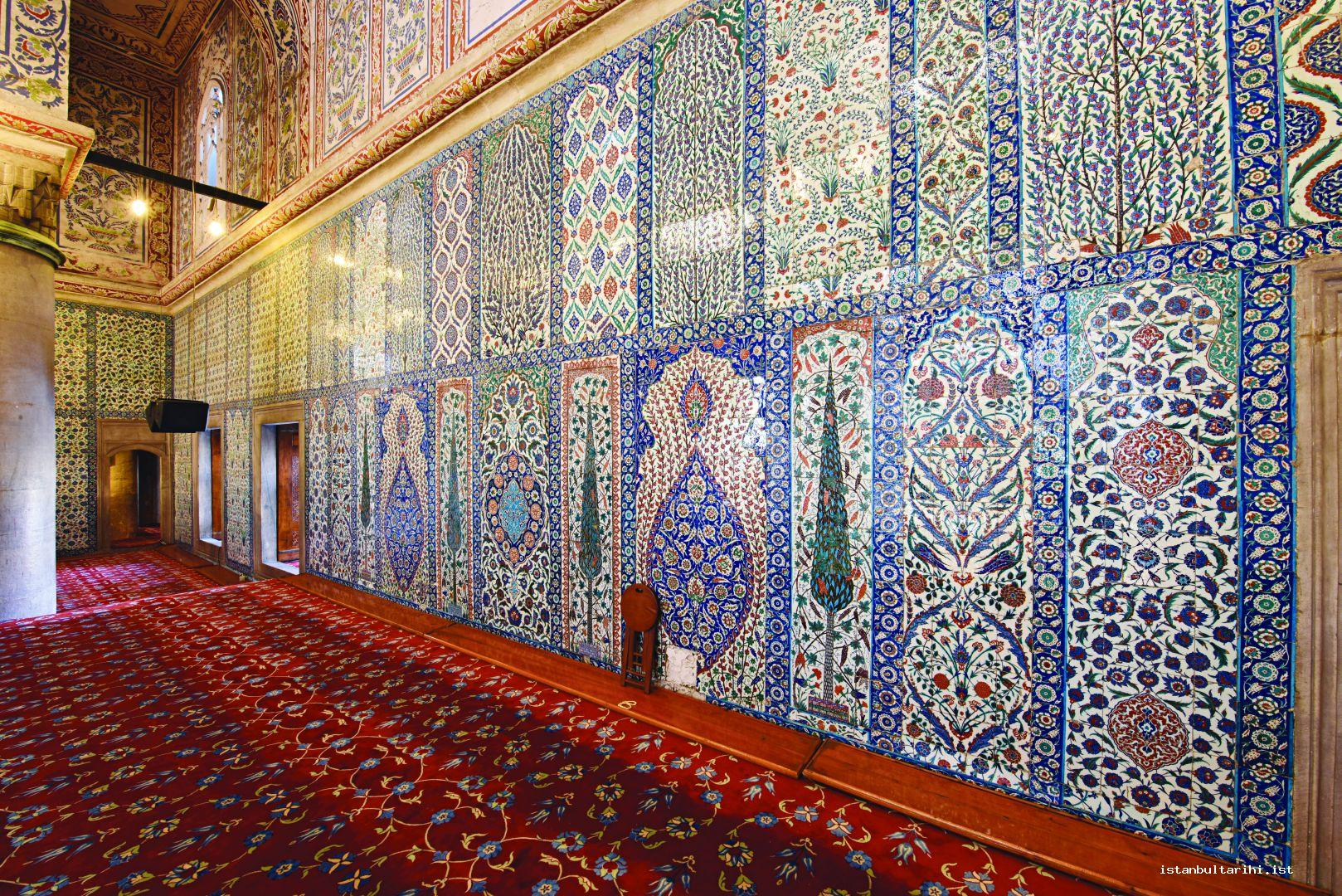 47- Wall tiles of Sultanahmet Mosque (Blue Mosque)