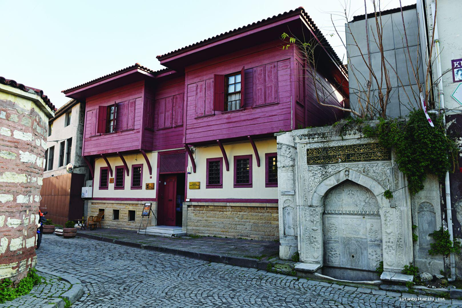 10- The house of Hammamizade İsmail Dede Efendi who was one of the composers of the period of Sultan Selim III