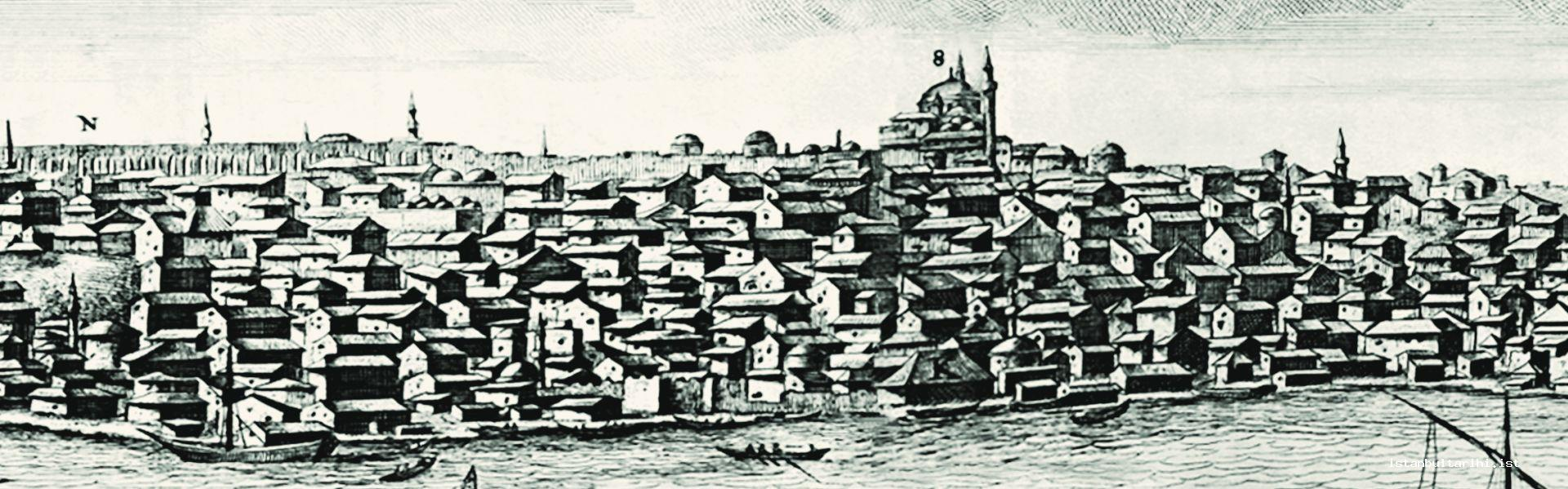 2- The houses in and around Unkapanı and Fatih (Bruyn)