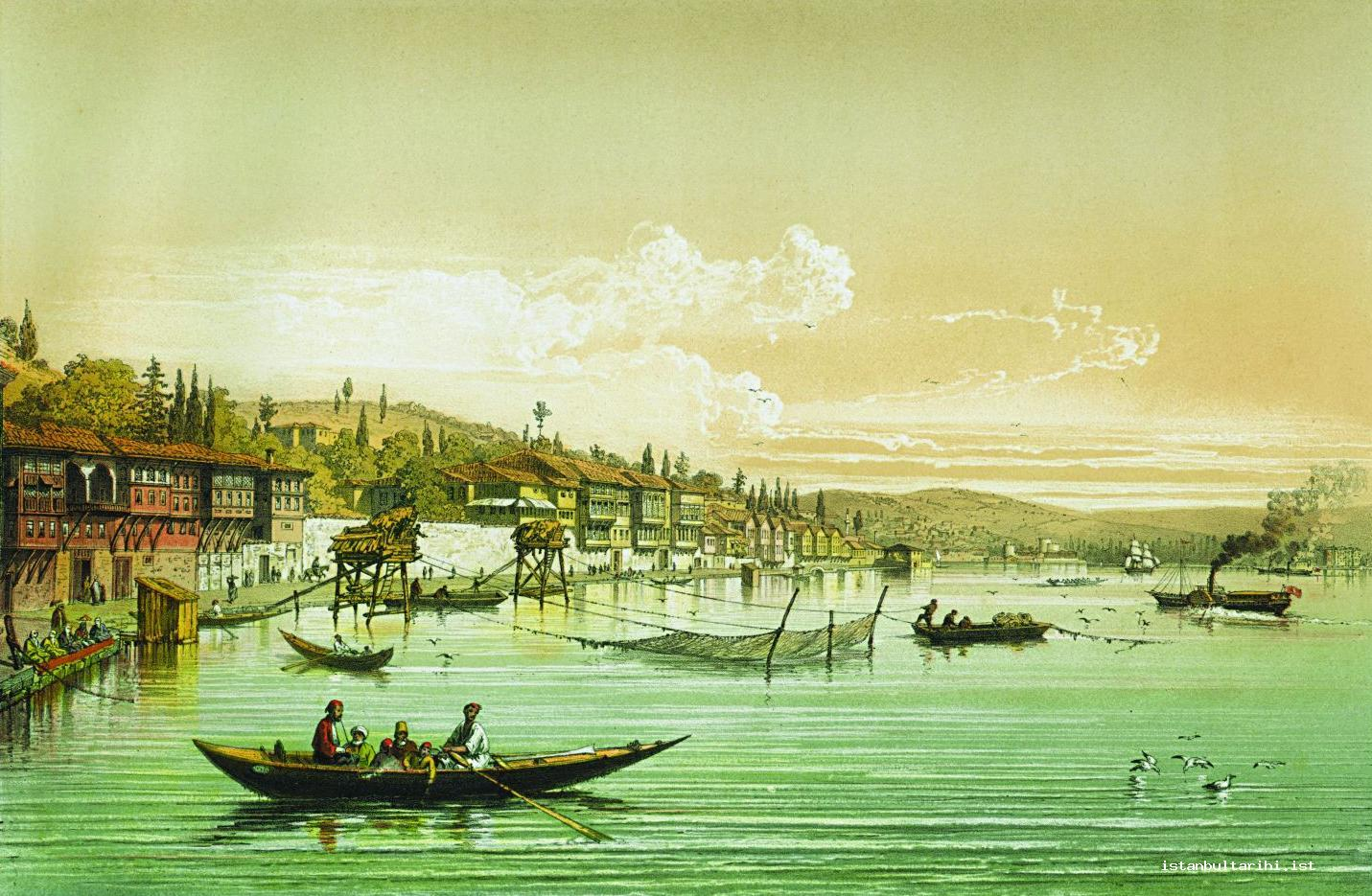 8- The seaside mansions along Bosporus (Anatolian Castle is on the other side) (Brindesi)
